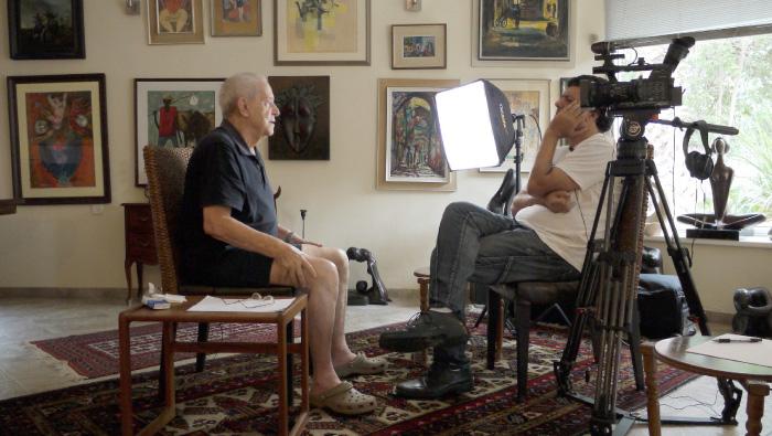 Ofer Regev interviews Aryeh Shachar, a Company Commander in Operation Nachshon.