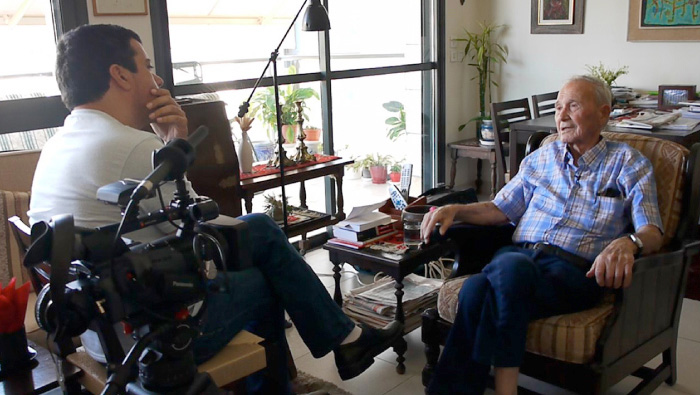 Izzy Rahav tells Ofer Regev about the fall of Jerusalem's Old City in the War of Independence.